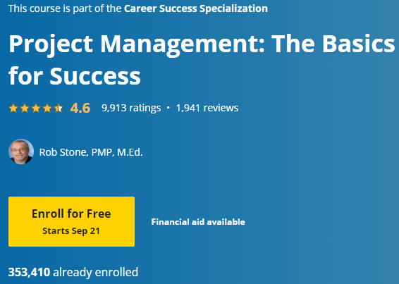 Free Online College Classes for Project Management 6