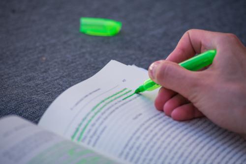 highlighting method
