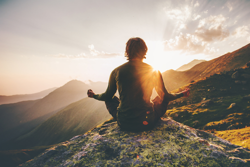 Meditation college health