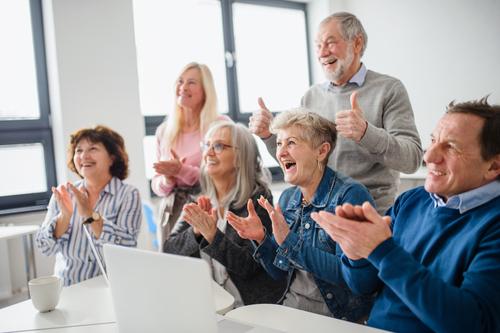 Online college for older people